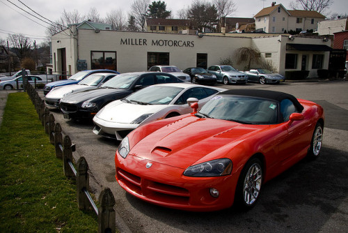 Dodge Viper SRT-10 and Friends by erdero on Flickr.