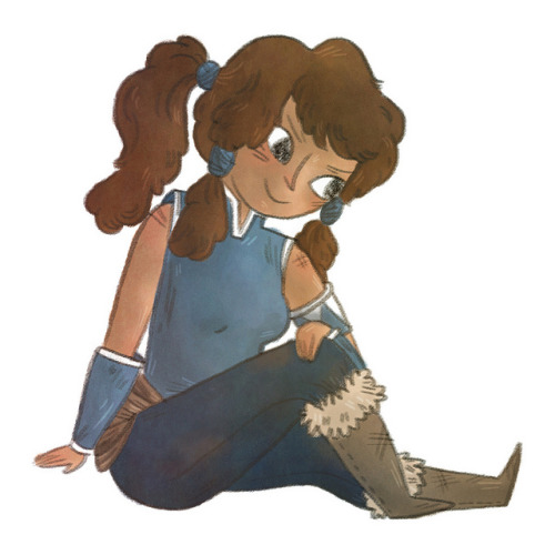 Korra on Flickr. The new avatar! And I love her already.