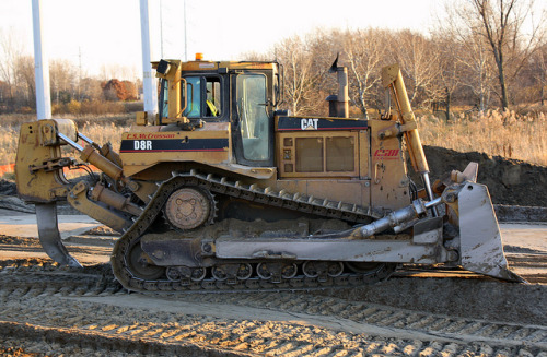 Caterpillar D8R Dozer  by Cat345 on Flickr.