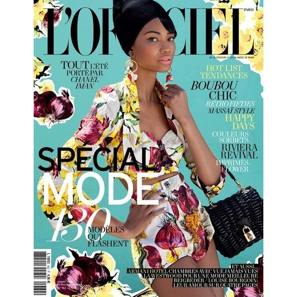 L'Officiel February 2012 Cover (L'Officiel)
