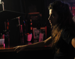 Tania Raymonde on the set of LOSERS TAKE ALL  photo by Katherine Bomboy