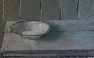 "Still Life with Bowl 3x5"" Acrylic on Wood by ART NAHPRO on Flickr."