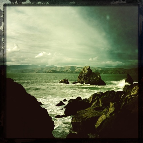 Sutro Baths. Pacific Ocean. John S Lens, Cano Cafenol Film, No Flash, Taken with Hipstamatic