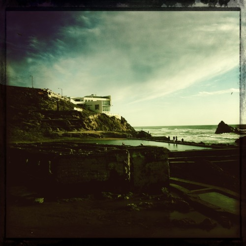 Sutro Bath Ruins in San Francisco. John S Lens, Cano Cafenol Film, No Flash, Taken with Hipstamatic