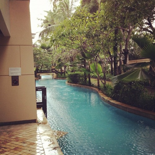 pool access (Taken with Instagram at Conrad Resort and Spa, Bali)