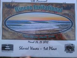 "1st Place for Shared Waves at the Rincon Invitational The Great Lakes Team took 1st Place for ""Shared Waves"" this weekend at the 5th Annual Rincon Invitational! We had such a great time, surfing, talking story, and sharing the stoke all day. The Great Lakes Team was truly blessed with the sun shining and perfect point waves all day, not to mention Shaun Tomson asked three Great Lakers to join his team along with Peter Townend and Glenn Hening, founder of Surfrider Foundation, all legends in the surfing world. Such an incredible weekend! A big thanks to all those that made the Invitational possible for the Great Lakes! And a big thanks to the Lakes captain Ken Cole for putting the team together! Photo by: Burton Hathaway"