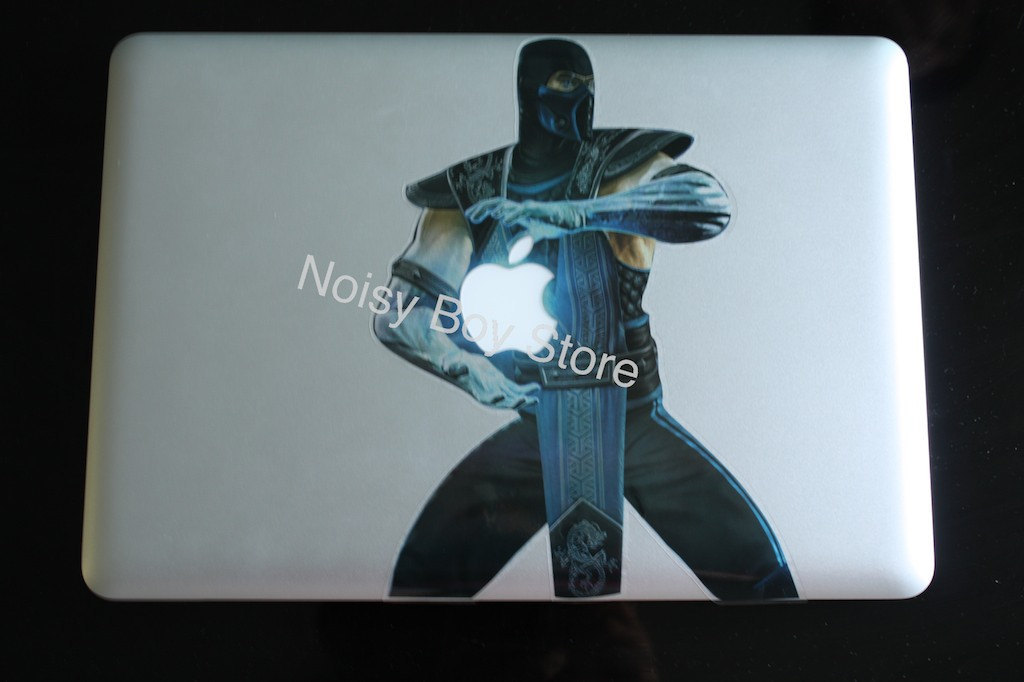 Sub-Zero - Apple Macbook Air Pro Decal Sticker Decals Stickers iPad/iPhone (vía NoisyBoyStore)