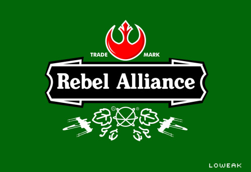 Today, another Star Wars Logo ( Heineken Style (c) )
