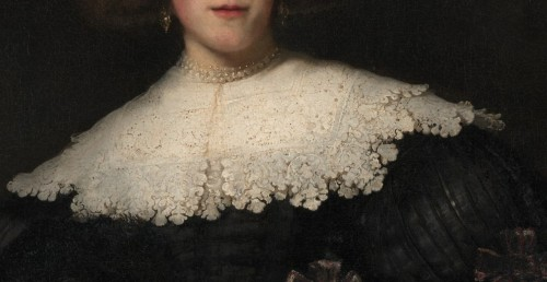 urthonadmors: Portrait of a Young Woman with a FanRembrandt (Rembrandt van Rijn)  (Dutch, Leiden 1606–1669 Amsterdam)