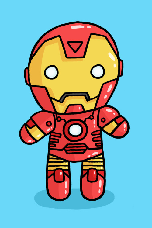 squid-bits:  I figured I should draw Iron Man as there's some film coming out in a few weeks…? I forget what it's called.