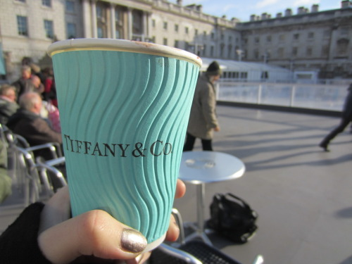 sevvven:  Tiffany and Co. Hot Chocolate in London