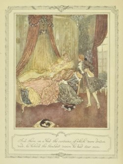suicideblonde:  Sleeping Beauty (1910) by Edmund Dulac