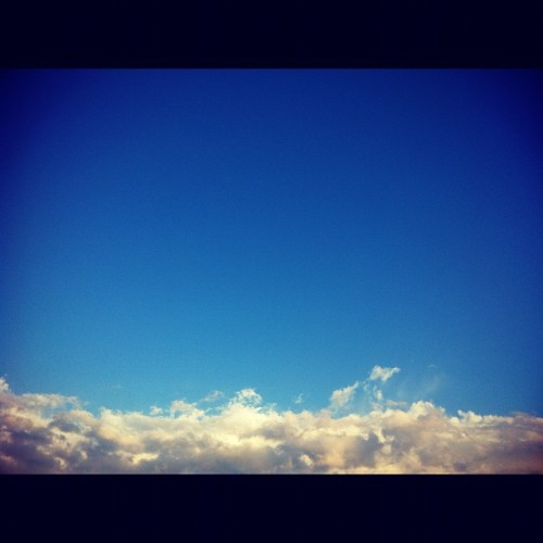 #sky #blue #iphoneonly  (Taken with instagram)