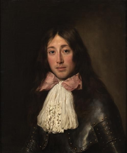 thestuartkings:  Soldier in a Pink Bow, late 17th century By Jacob Ferdinand Voet