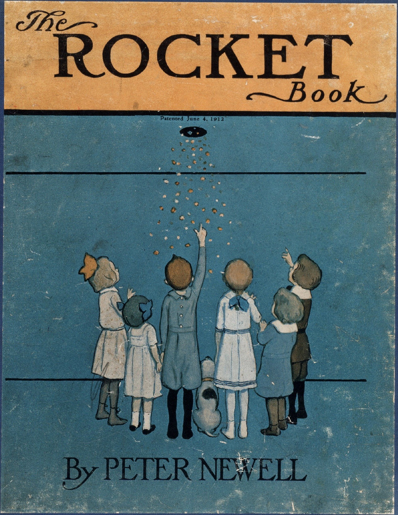 The Rocket Book (cover) (by peacay)