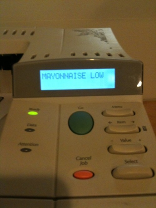 prismaticpuppeteer:  copy machine you are drunk  My kind of copy machine.