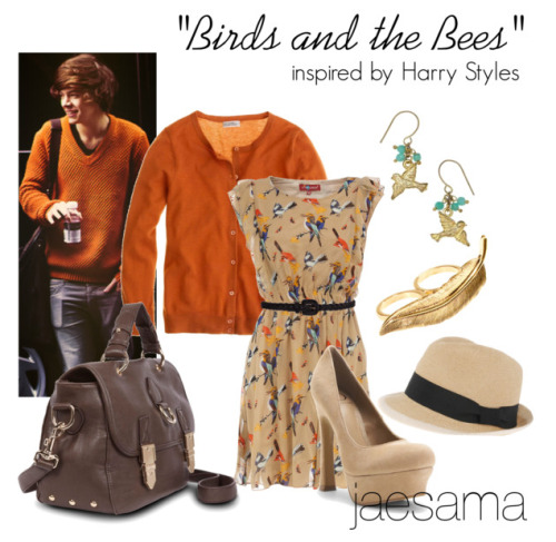"""Birds and the Bees"" inspired by Harry StylesOutfit requested by: kuiviexxmia"