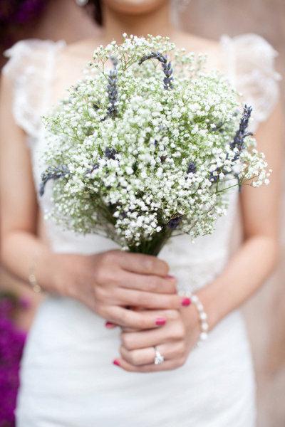 bouquets de mariée champêtre