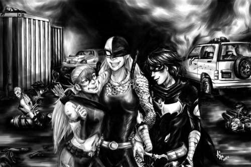 DC: Daughters by ~aimoia on Deviantart.