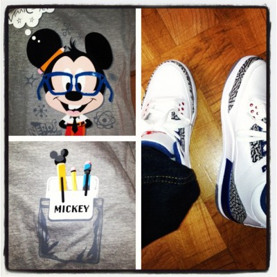 #Mickey #nerd #TrueBlue #cement #Jordan