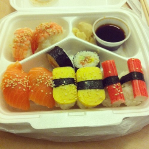 Sushi! 😁❤🍣 #sushi #food #love #gothenburg #instamood  (Taken with instagram)