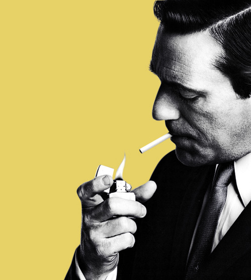 "nevver:  ""People were buying cigarettes before Freud was born."" Don Draper's Best Lines"