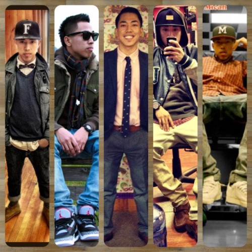 messin with the updated #PicFrame and some of my favorite #wdywt and #ootd 's ENJOY ! (Taken with instagram)