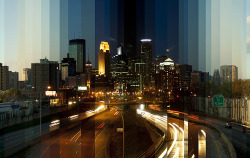 stuffaboutminneapolis:  abirdseyeview:  Fact: Minneapolis is the greatest city in the world.  Each photo is 12 minutes apart, assembled with no measurements in place (obviously) with Photoshop. No exposure adjustments or colour compensations.