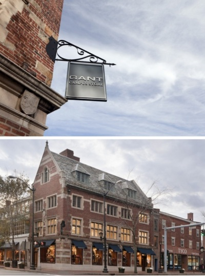 GANT was founded in New Haven, Connecticut in 1949—just steps from the Yale University campus—and  was instrumental in shaping the casual mode of dressing that emerged during the post-WWII rise of American sportswear. GANT invented and popularized shirt features such as the button-down collar, the box pleat, the back collar button and the locker loop. Those shirts became associated with the Ivy League look and the Yale Co-op was one of its most famed distributors. The Yale Co-op was the social hub of the campus—a store where everything a student might need—from toiletries to books to clothing—might be found. In the 1960s, GANT made a shirt collection exclusively for the Yale Co-op, and it is that collection, recreated under an agreement with Yale University's Office of Marketing and Trademark Licensing, that will now be introduced globally.