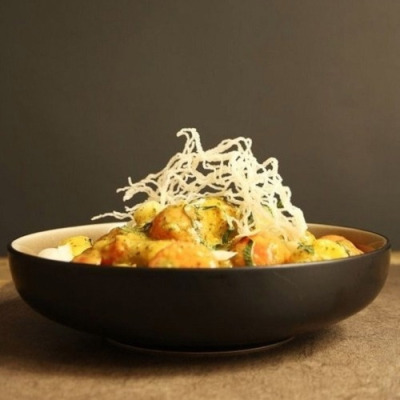 indochine melon coconut curry