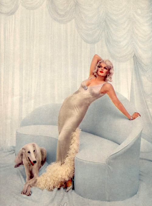 ofmiscellany:  Marilyn as Jean HarlowPhoto by Richard Avedon, 1957
