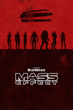 Mass Effect 1 Poster by William Henry