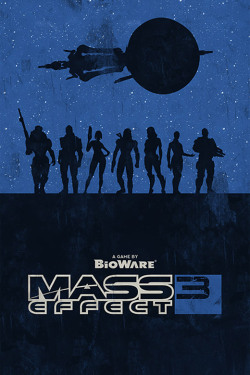 Mass Effect 3 Poster by William Henry