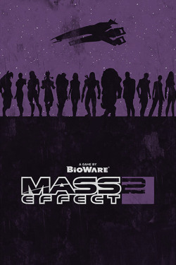 Mass Effect 2 Poster by William Henry
