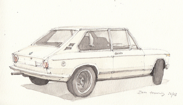2000 touring on Flickr.The touring went off during the drawing, I had to finish it later…