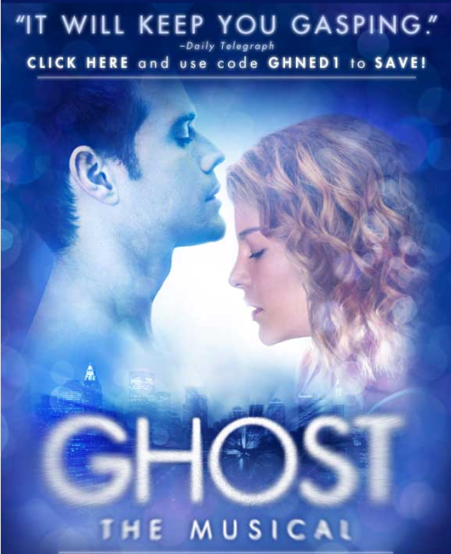 GHOST THE MUSICAL induces orgasms.
