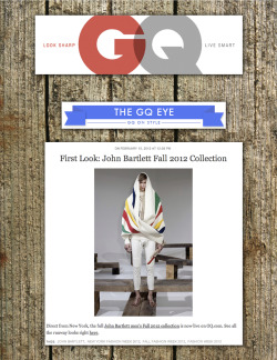 gq - first look - f/w '12