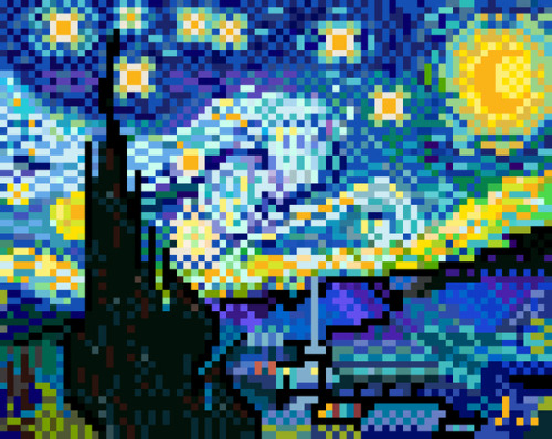 it8bit:  The Starry Night Created by Jaebum Joo Website || Blog