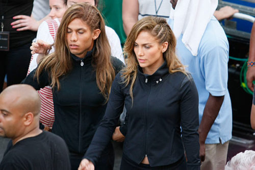 thatfunnyblog:  JLo's male stunt double hahaha oh my god