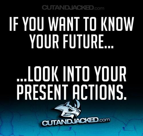 Your actions today prepare for the birth of tomorrow.  Never let a day go by; when you don't try. -Eddie Harris Jr,CWC;CPT;CSN