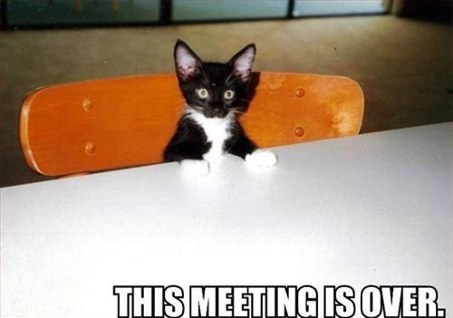 This meeting is over.  (via tastefully offensive)  me, today