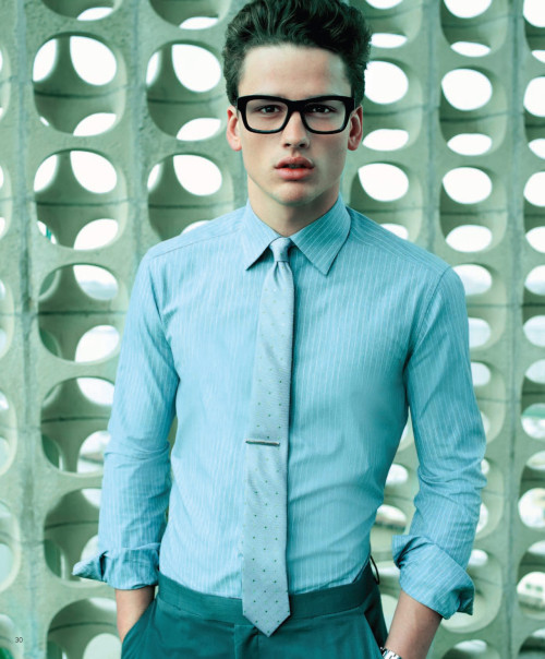 Simon Nessman for Macy's March 2012 catalogue