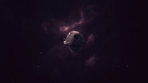 The Lonely Death Star II Wallpaper (« Full Size)