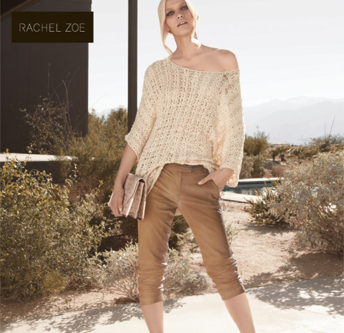 #PANTS  rzrachelzoe:  So excited! Check out the new Rachel Zoe Collection online boutique at Nordstrom.com. xoRZ