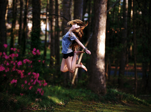 myfairytaleforest: exuberance (by rebecca anne.) you will also like: so natural, so fresh.