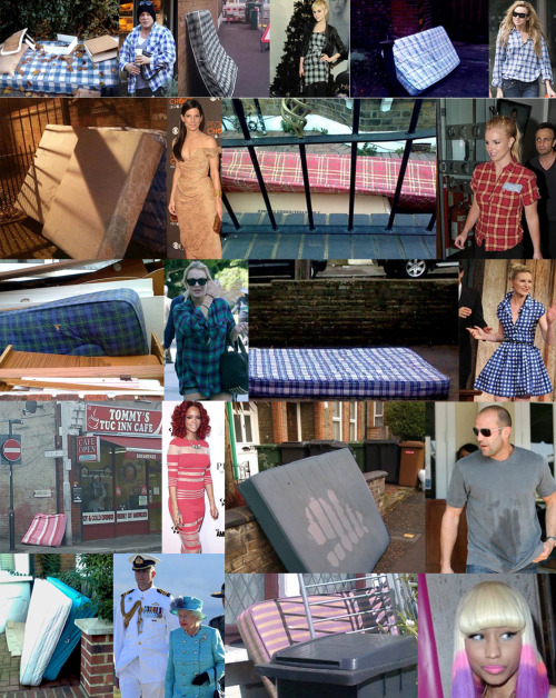 iheartchaos:  Celebrities that look like mattresses.