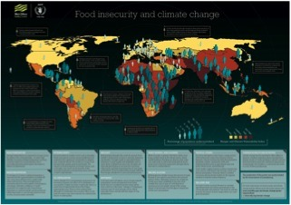 Where in the world is climate change most likely going to affect communities abilities to feed themselves? Which areas have already been hard hit? Graphic: World Food Program