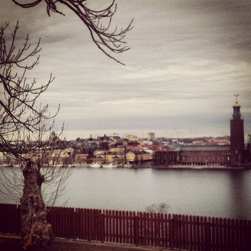 amandalooma:  #my #beautiful #city #stockholm #today (Taken with instagram)