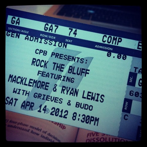 Mackelmore babayyyyy #andwedanced (Taken with instagram)