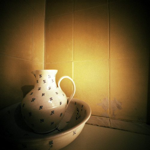 Jug and bowl, by me. Don't forget Worldwide Pinhole Photography Day is coming up.